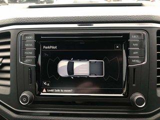 2019 Volkswagen Amarok 2H MY19 TDI580 4MOTION Perm Highline Black Candy White 8 Speed Automatic