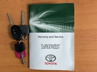 2015 Toyota Yaris NCP130R Ascent Blue 4 Speed Automatic Hatchback