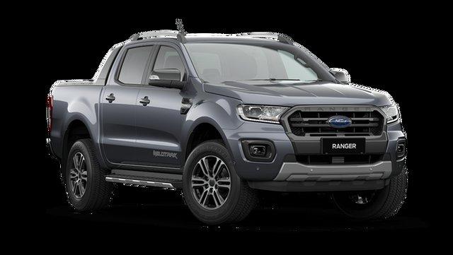 New Ford Ranger Wildtrak Hamilton, 2021 Ford Ranger PX MkIII Wildtrak Meteor Grey 6 Speed Automatic Pick Up
