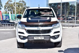 2017 Holden Colorado RG MY18 Z71 Pickup Crew Cab White 6 Speed Sports Automatic Utility