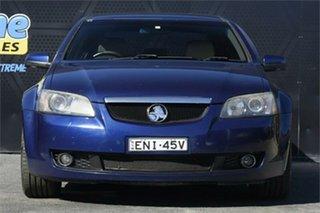 2007 Holden Calais VE V Blue 6 Speed Sports Automatic Sedan.