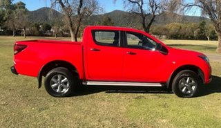2016 Mazda BT-50 UR0YF1 XT Red 6 Speed Sports Automatic Utility