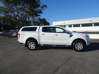 2015 Ford Ranger PX XLT Double Cab Cool White 6 Speed Automatic Utility