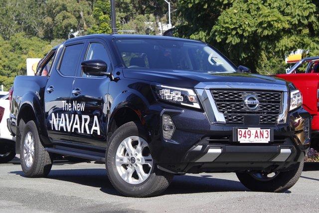 Demo Nissan Navara D23 MY21 ST Newstead, 2021 Nissan Navara D23 MY21 ST Cosmic Black 7 Speed Sports Automatic Utility