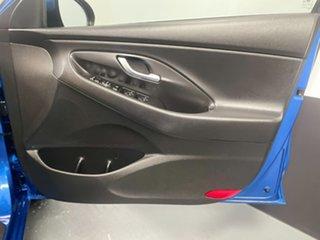2017 Hyundai i30 PD MY18 SR D-CT Marina Blue 7 Speed Sports Automatic Dual Clutch Hatchback
