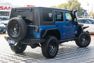 2010 Jeep Wrangler JK MY2010 Unlimited Sport Blue 5 Speed Automatic Softtop.