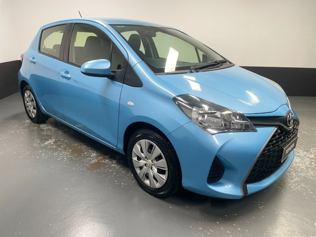 Used Toyota Yaris NCP130R Ascent Rutherford, 2015 Toyota Yaris NCP130R Ascent Blue 4 Speed Automatic Hatchback