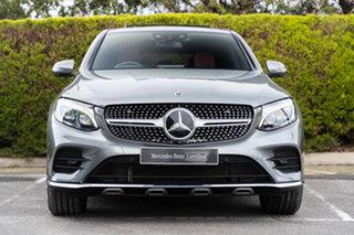2017 Mercedes-Benz GLC-Class C253 808MY GLC250 d Coupe 9G-Tronic 4MATIC Selenite Grey 9 Speed