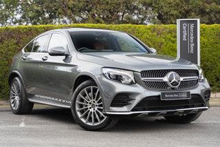 2017 Mercedes-Benz GLC-Class C253 808MY GLC250 d Coupe 9G-Tronic 4MATIC Selenite Grey 9 Speed.