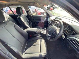2014 BMW 1 Series F20 MY0713 118i Steptronic Black Sapphire 8 Speed Sports Automatic Hatchback