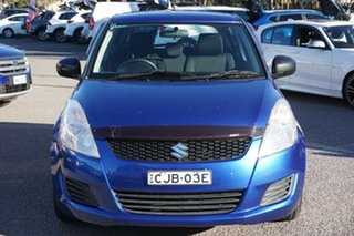 2012 Suzuki Swift FZ GA Blue 5 Speed Manual Hatchback.