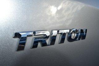 2017 Mitsubishi Triton MQ MY17 GLX+ Double Cab Silver 5 Speed Sports Automatic Utility