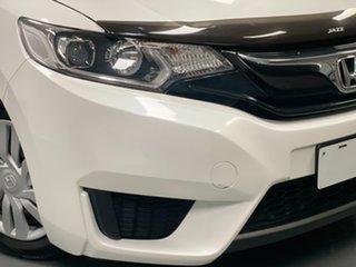 2014 Honda Jazz GF MY15 VTi White 1 Speed Constant Variable Hatchback.