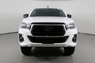 2020 Toyota Hilux GUN126R MY19 Upgrade SR (4x4) White 6 Speed Manual Double Cab Pick Up.