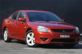 2007 Mitsubishi 380 DB Series III SX Red 5 Speed Sports Automatic Sedan.