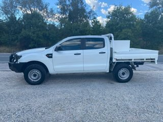 2016 Ford Ranger PX MkII XL White Sports Automatic Cab Chassis.