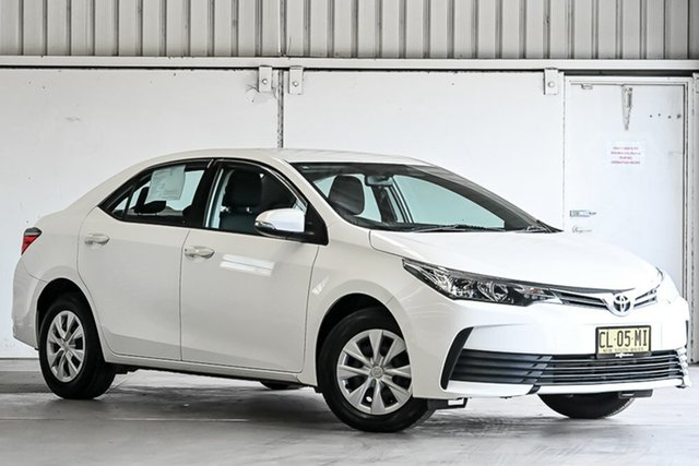 Used Toyota Corolla ZRE172R Ascent S-CVT Laverton North, 2017 Toyota Corolla ZRE172R Ascent S-CVT White 7 Speed Constant Variable Sedan