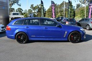 2016 Holden Commodore VF II MY16 SS V Sportwagon Redline Blue 6 Speed Sports Automatic Wagon.