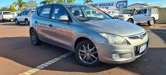 Used Hyundai i30 FD MY11 SX East Bunbury, 2011 Hyundai i30 FD MY11 SX Silver 4 Speed Automatic Hatchback