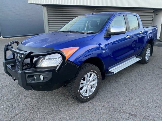Used Mazda BT-50 UP0YF1 XTR Gladstone, 2014 Mazda BT-50 UP0YF1 XTR Blue 6 Speed Sports Automatic Utility