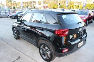 2020 Hyundai Venue QX.V3 MY21 Active Phantom Black 6 Speed Automatic Wagon