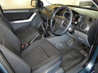 2014 Mazda BT-50 MY13 XT Hi-Rider (4x2) Blue 6 Speed Manual Cab Chassis