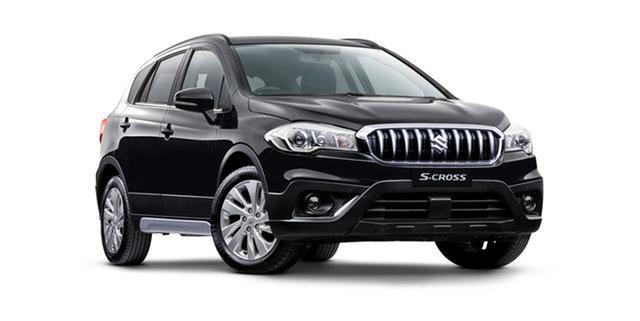 New Suzuki S-Cross JY Turbo Hamilton, 2021 Suzuki S-Cross JY Turbo Cosmic Black 6 Speed Sports Automatic Hatchback