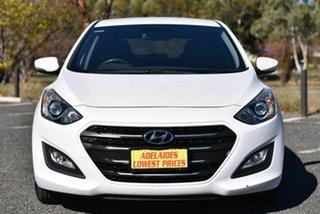 2015 Hyundai i30 GD3 Series II MY16 Active X White 6 Speed Manual Hatchback.
