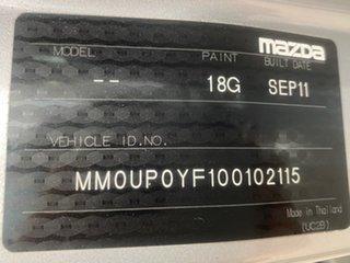 2011 Mazda BT-50 XTR Silver Manual Dual Cab Utility
