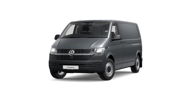 Demo Volkswagen Transporter Transporter Hamilton, 2020 Volkswagen Transporter T6.1 LWB Van Indium Grey 7 Speed Semi Auto Van