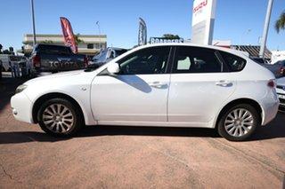 2011 Subaru Impreza MY11 R (AWD) White 5 Speed Manual Hatchback.