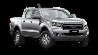 2021 Ford Ranger PX MkIII 2021.25MY XLS Aluminium Silver 6 Speed Sports Automatic Double Cab Pick Up.