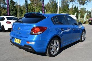 2014 Holden Cruze JH Series II MY14 SRi Z Series Blue 6 Speed Manual Hatchback.