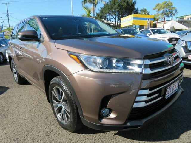 Used Toyota Kluger GSU55R GX AWD Mount Gravatt, 2019 Toyota Kluger GSU55R GX AWD Bronze 8 Speed Sports Automatic Wagon