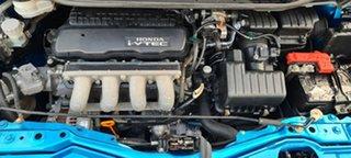 2009 Honda Jazz GE MY09 GLi Blue 5 Speed Manual Hatchback.