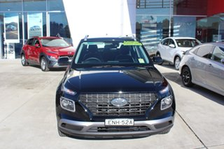 2021 Hyundai Venue QX.V3 MY21 Active Phantom Black 6 Speed Automatic Wagon.