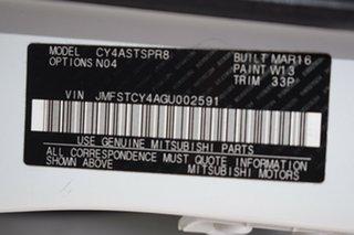 2016 Mitsubishi Lancer CF MY16 LS White 6 Speed Constant Variable Sedan