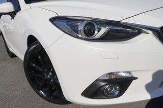 2016 Mazda 3 BM5438 SP25 SKYACTIV-Drive GT Snow White Pearl 6 Speed Sports Automatic Hatchback.