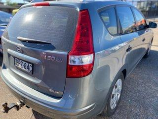 2010 Hyundai i30 FD MY11 SX cw Wagon Grey 5 Speed Manual Wagon