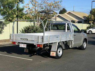 2010 Toyota Hilux GGN15R MY10 SR 4x2 Silver 5 Speed Automatic Cab Chassis.