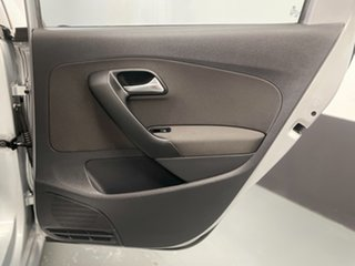 2013 Volkswagen Polo 6R MY13.5 77TSI Comfortline Silver 6 Speed Manual Hatchback