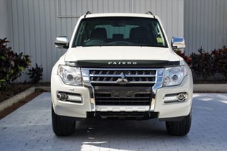 2021 Mitsubishi Pajero NX MY22 GLS Final Edition Warm White 5 Speed Sports Automatic Wagon.