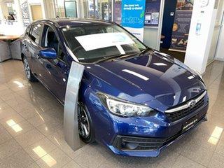 2021 Subaru Impreza G5 MY21 2.0i CVT AWD Lapis Blue 7 Speed Constant Variable Hatchback.