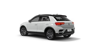 2021 Volkswagen T-ROC A1 MY21 110TSI Style Pure White 8 Speed Sports Automatic Wagon.