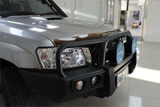 2011 Nissan Patrol GU 7 ST Silver 4 Speed Automatic Wagon