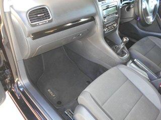 2009 Volkswagen Golf VI MY10 118TSI Comfortline Black 6 Speed Manual Hatchback