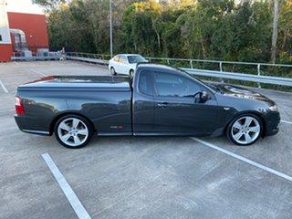2009 Ford Falcon FG XR8 Grey 6 Speed Auto Seq Sportshift Utility.