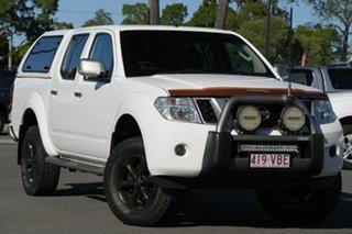 2014 Nissan Navara D40 S7 Titanium White 6 Speed Manual Utility.