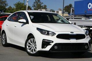 2020 Kia Cerato BD MY20 S White 6 Speed Sports Automatic Hatchback.