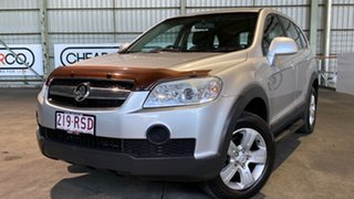 2009 Holden Captiva CG MY09 SX AWD Silver 5 Speed Sports Automatic Wagon.